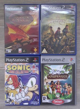Pack 4 Jogos Playstation2