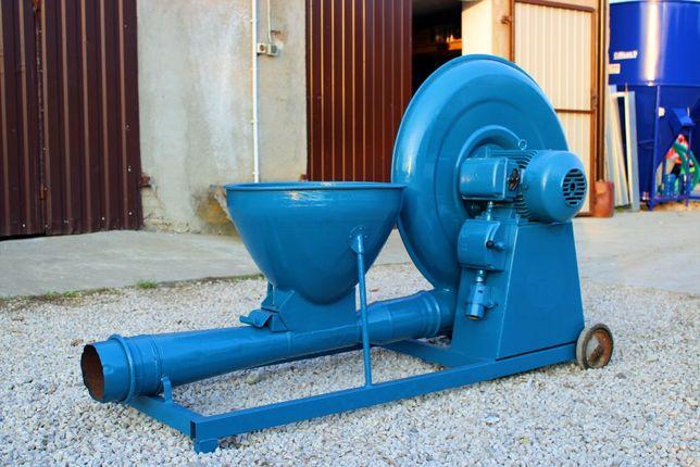 Dmuchawa do zboża NEUERO 3 kW 10m rur 2 kolana Super wydajność TRANS