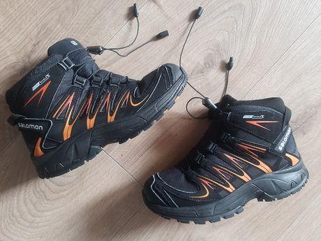 SALOMON  roz  .31 buty chłopięce sportowe membrana