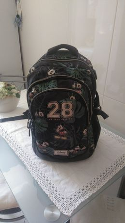 Mochila de criança da Disney+Capac.bicicleta  novo+mochila de senhora.