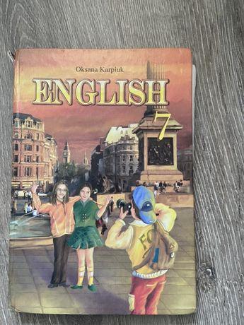 Книга по англискому языку учебник с англиского языка Оксана Карпюк