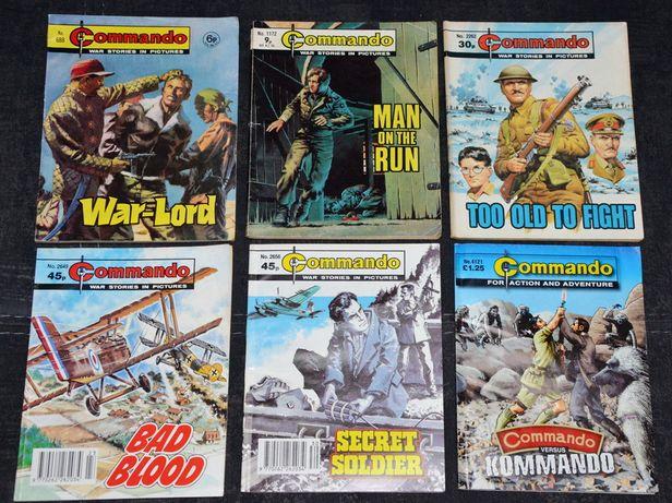 Комиксы Commando 6 штук