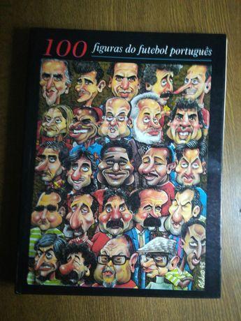 Livro das 100 figuras do futebol português