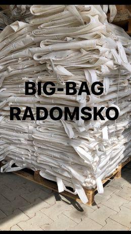 BIG BAG worki bigbagi z wkladem foliowym 90/100/109 cm lej spustowy
