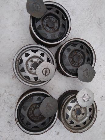 Диски с накладками Opel R13,(5.5) Оригиналы, комплект