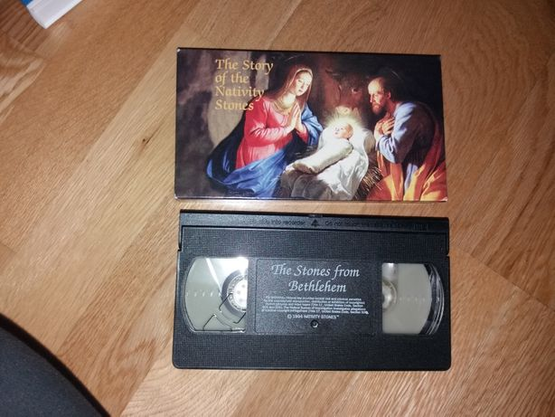 Cassete VHS The history of the nativity Stones