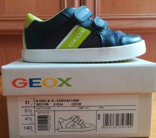 Chłopięce sneakersy Gisli firmy Geox rozm. 21