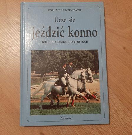 Książka. Konie. Uczę się jeździć konno.