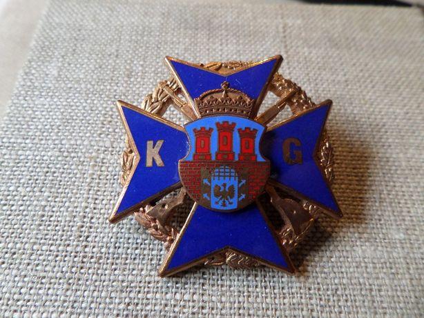 Odznaka Oficerska - Komenda Garnizonu KRAKÓW