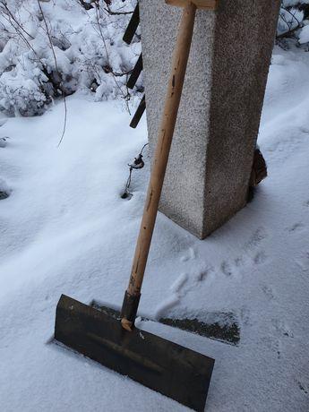 Łopata do śniegu  50x25 stalowa rolnicze nowa