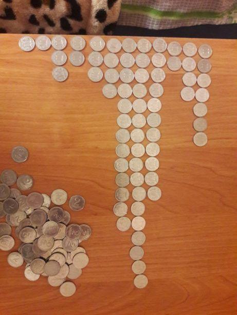 Монеты 1 и 2 копеек.