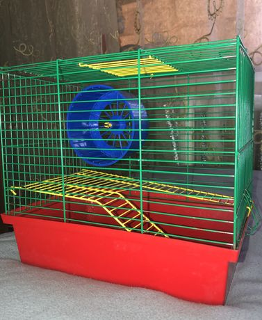 Клетка для хомяков и крыс