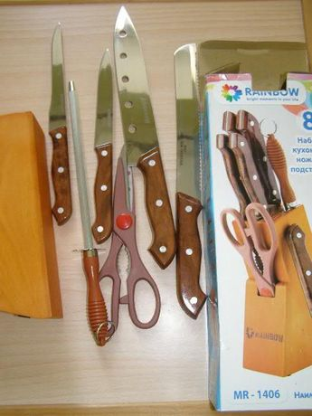Набір ножів Maestro з мусатом
