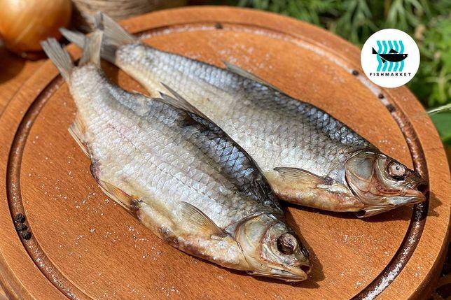 Плотва - жирненькая и в меру соленая! Вяленая рыба от Fishmarket.UA
