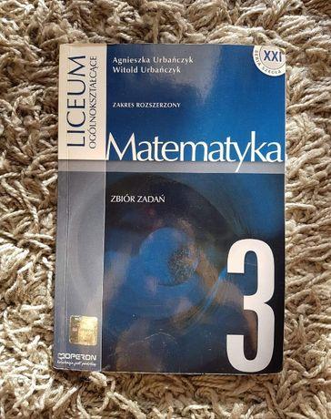 """Zbiór zadań """"Matematyka 3"""" Zakres rozszerzony OPERON"""