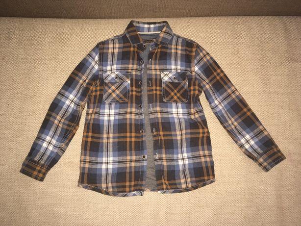 Сорочка/рубашка байкова двійна 116
