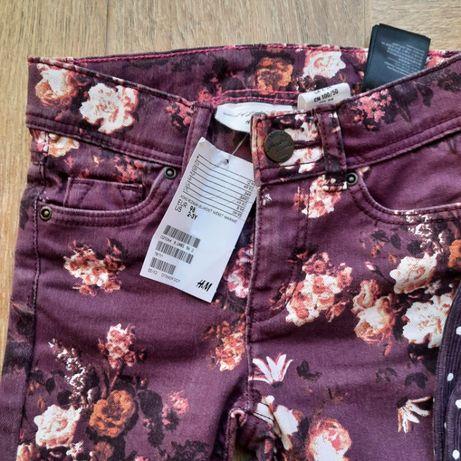 Ubranka dla dziewczynki: kurtka, 3 szt spodni, komplet sweter+spódnica