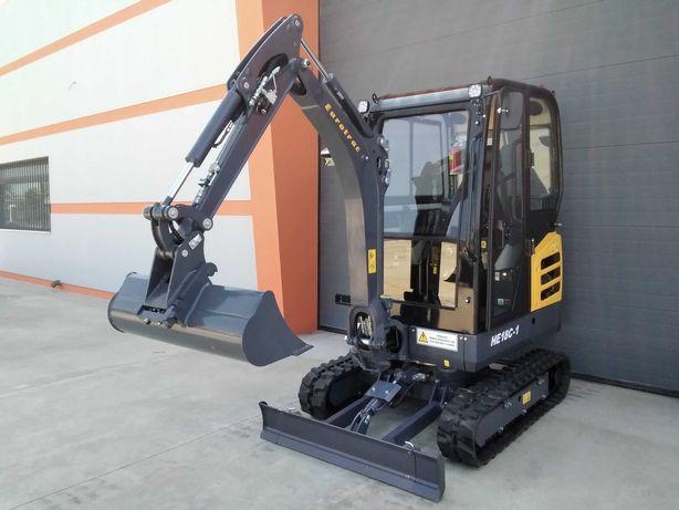 Mini giratória escavadora Kubota NOVA de 2021