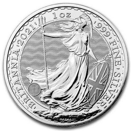 Britannia / Британия (2021) Ag 999.9 - 2 GBP - 1 Oz