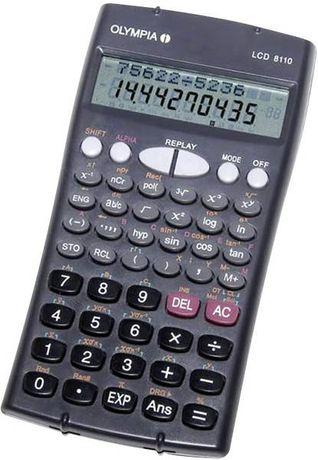 Kalkulator naukowy OLYMPIA LCD-8110 2 wierszowy wyświetlac 229 Funkcji