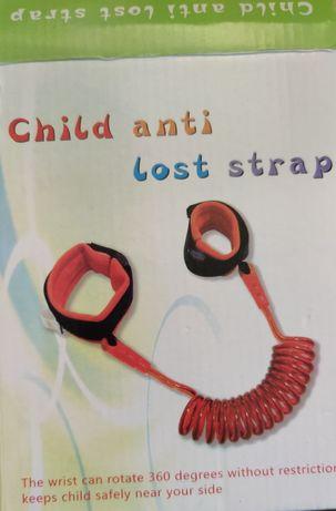 Zabezpieczenie smycz dla dziecka na rękę 2m