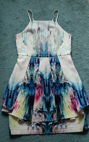 Sukienka z suwakiem