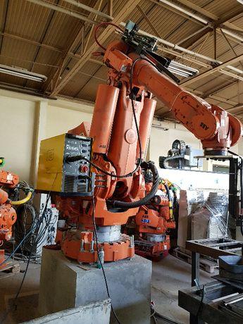 Robot spawalniczy - stanaowisko zrobotyzowane -Robot ABB