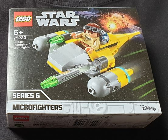 LEGO Star Wars 75223 Naboo Starfighter Microfighter nowe