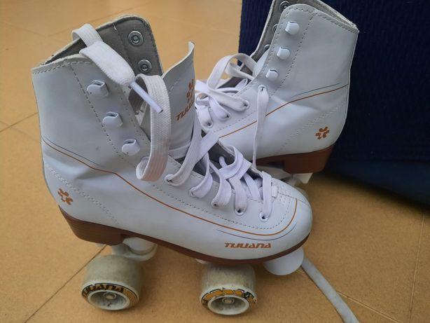 Patins 4 rodas patinagem artistica n° 34