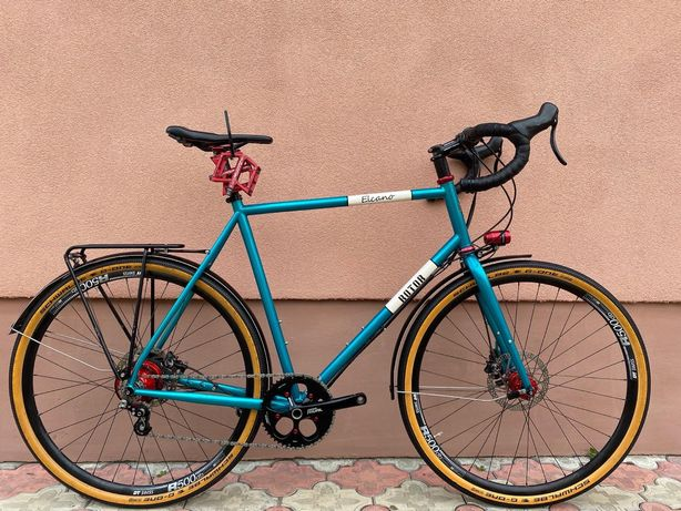 Продам велосипед Rotor Eleanor хромолибден 25 CrMo.Rohloff