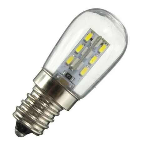 Lâmpada LED E12 para frigorífico 220V 3W +PORTES GRÁTIS