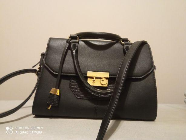 Elegancka torba czarna PARFOIS