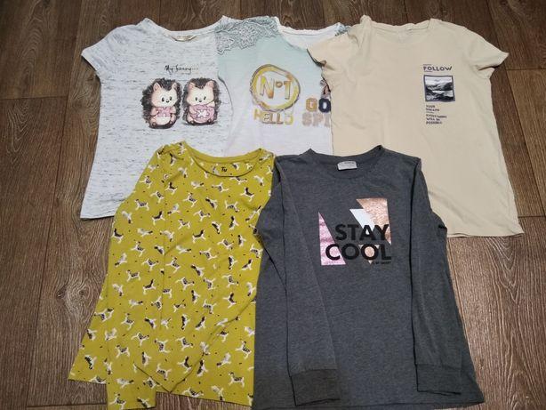 Пакет вещей (футболки + регланы) рост 134-140 см
