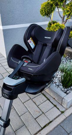 RECARO fotelik samochodowy 0-18 kg RWF tyłem przodem OBROTOWY jak NOWY
