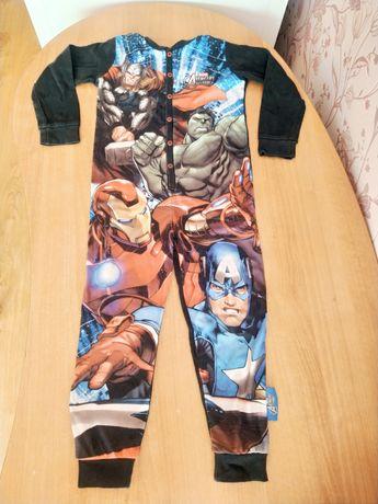 Комбинезон слип человечек пижама хлопок