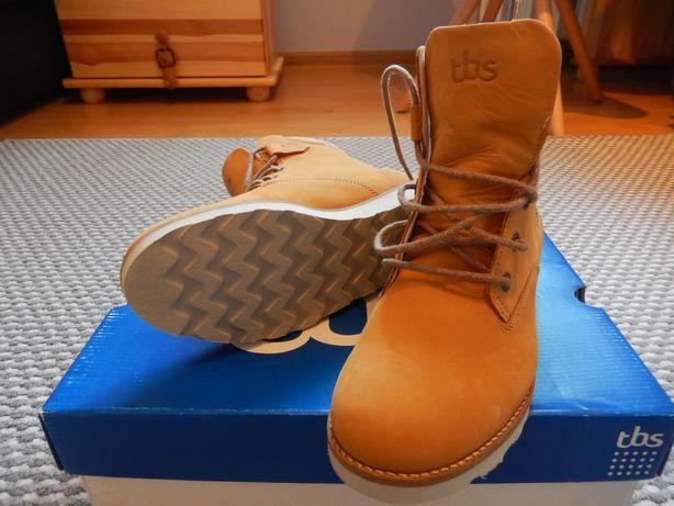 nowe skórzane buty damskie TBS Anaick rozmiar 38