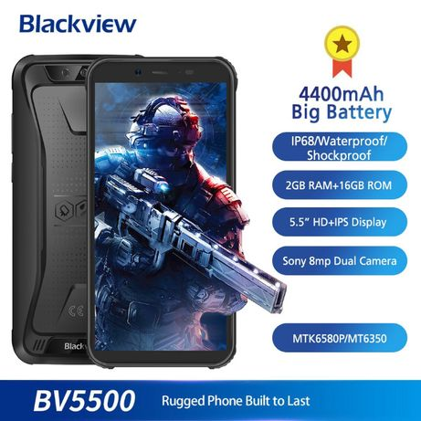 Blackview BV5500 противоударный водонепроницаемый смартфон IP68