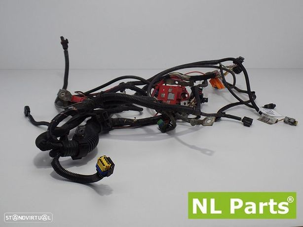 Instalação elétrica do motor Renault Scenic / Modus