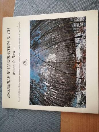 Płyta winylowa Jan Sebastian Bach.