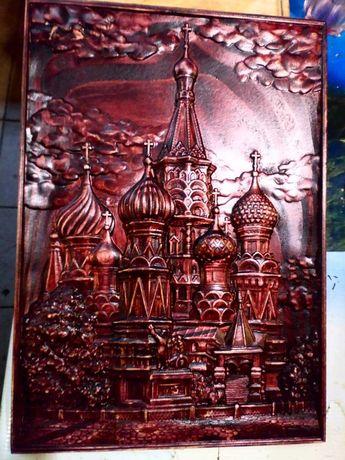 продам панно Храм Василия Блаженного