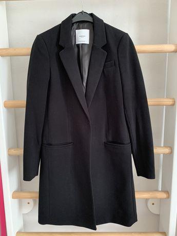 Черное пальто Mango XS