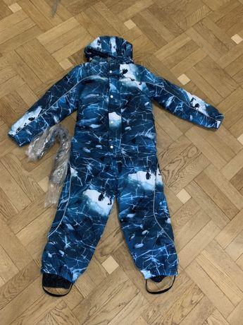 Зимний лыжный детский комбинезон куртка штаны Канада Molo, 122, 6-8 л.