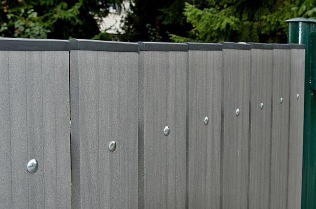 Deska ogrodzeniowa kompozytowa PVC #sztachetki NA WYMIAR