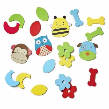 Зоо-микс игрушка для купания. Skip Hop. Набор игрушек для ванной Ферма
