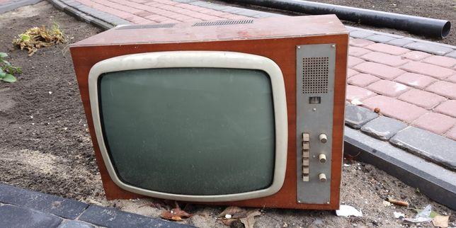 Designerski telewizor Unitra kolekcjonerski