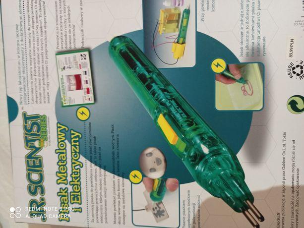 Pisak metalowy i elektryczny zestaw eksperymentalny nir tylko dla dzie