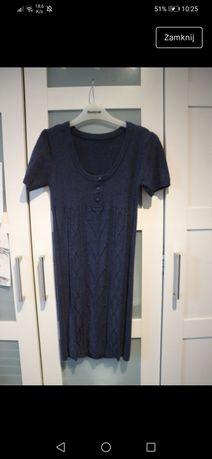 błękitna sukienka świąteczna