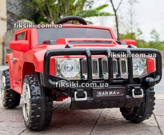 Детский электромобиль T-7836 красный, Hummer, Дитячий електромобiль