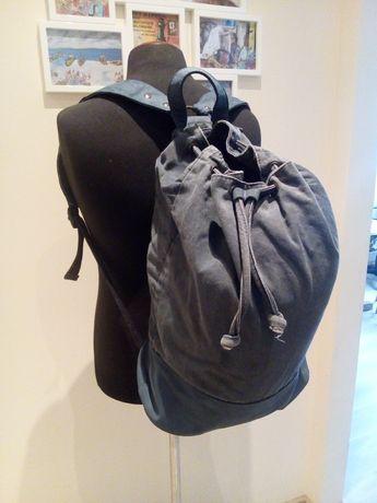 Plecak vintage z płótna