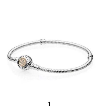 Pandora браслет, Пандора, Срібло 925